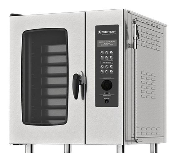 Horno Combinado Electrico Wictory 8 Bandejas Gn 1/1 Wts-8