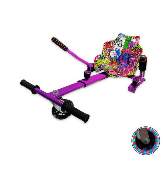 Hoverkart Carrinho P Hoverboard Universal 6 A 10 Grafiti2