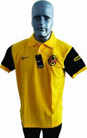 Playera Camisa Tipo Polo Liga Mx America Envió Gratis