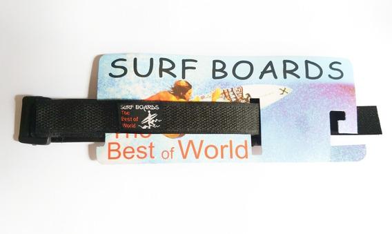 Pulseira Surf Boards De Velcro Para Relógio