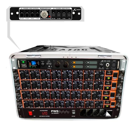 Mesa Digital 32ch/16aux Portátil C/ Case - X32core 32 Mk Vr