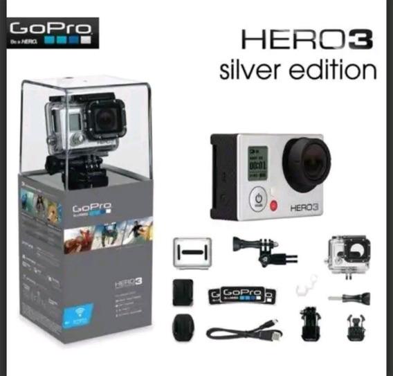 Gopro Hero 3+ Silver & Acessórios Originais