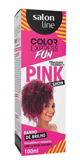 Tonalizante Color Express Fun Pink Show Salon Line 100ml