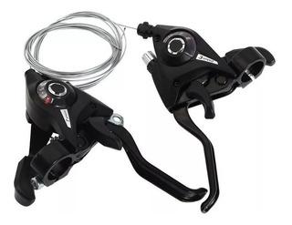Set X 2 Shifter Tipo Shimano Compat 3x8 24v X Par + Frenos