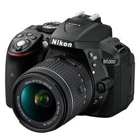 Nikon Dslr D5300 Com Af-p Dx 18-55mm Vr + Recibo E Garantia