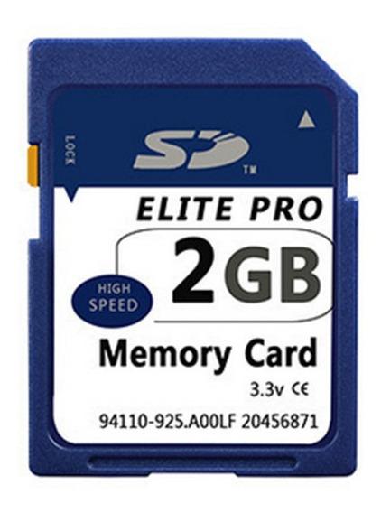 Cartão Sd 2gb Original - Adoro Eletrônicos