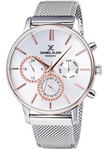 Relógio Analógico Daniel Klein Exclusive Dk11857-5 Masculino
