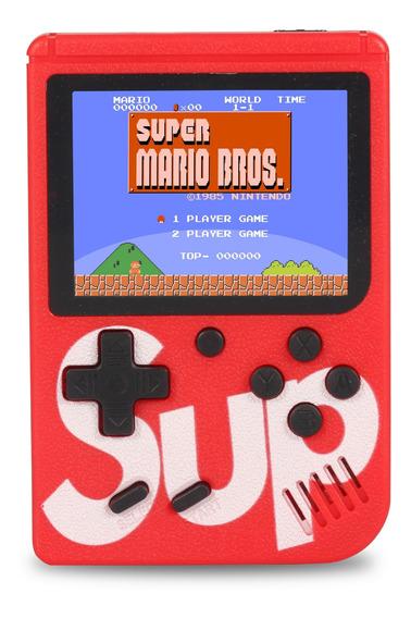 Vídeo Game Portátil Sup Game Boy 400 Jogos Retro Clássico Nes Gba Sega Ligue Tv