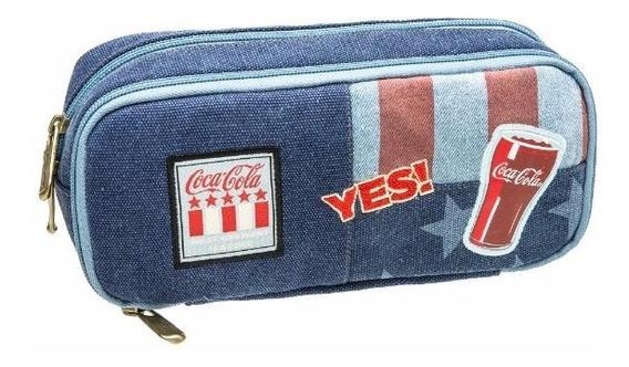 Estojo Duplo Coca Cola Nation - Coca Cola