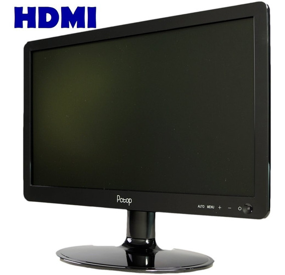 Monitor Led Slim 15,6 Pctop Wise Vga Hdmi Bivolt 1366x768