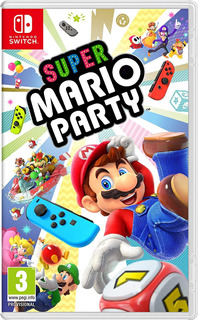 (semi-nuevo) Nintendo Switch: Super Mario Party