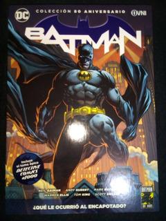 Batman Que Le Ocurrió Al Encapotado