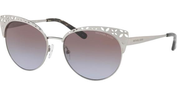 Óculos De Sol Prata Michael Kors Evy 0mk1023