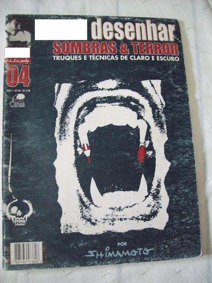 Revista: Como Desenhar Sombras & Terror Técnicas - Shimamoto