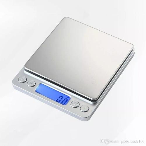 Balanza Digital De Precisión De 0.1 Gramo A 500 Grs