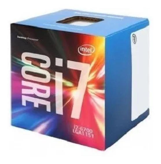 Processador Intel Core I7 6700 Ate 4,0ghz 1151 Sexta Geração