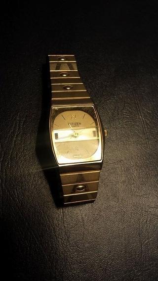 Reloj Citizen Dorado Para Hombre