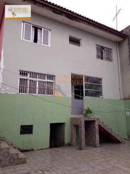 Sobrado Residencial Para Locação, Jardim Bom Clima, Guarulhos - . - So0112