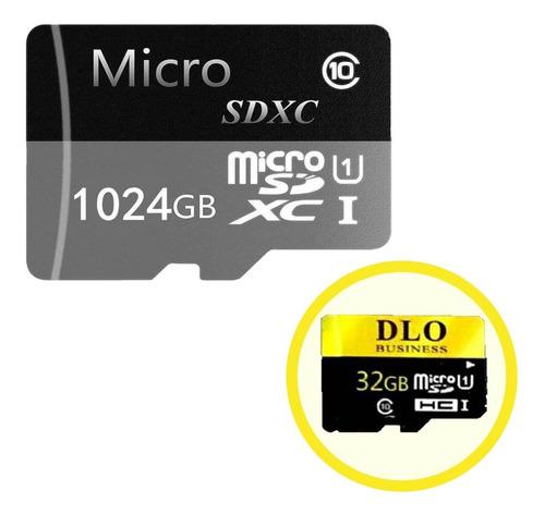 Micro Sd 1024 Gb 1 Tera Clase 10 + Micro Sd 32gb