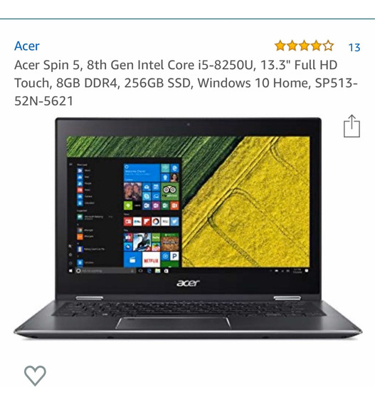 Acer Spin 5 Series