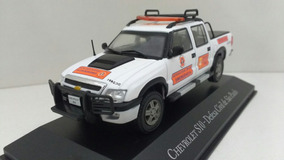 Miniatura Chevrolet S10 - Defesa Civil De São Paulo - 1/43