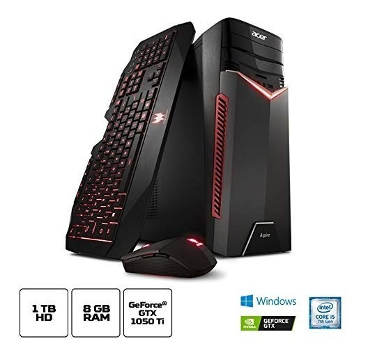 Pc Gamer Aspire Gx-783-br11 Intel Core 7 I5 8gb