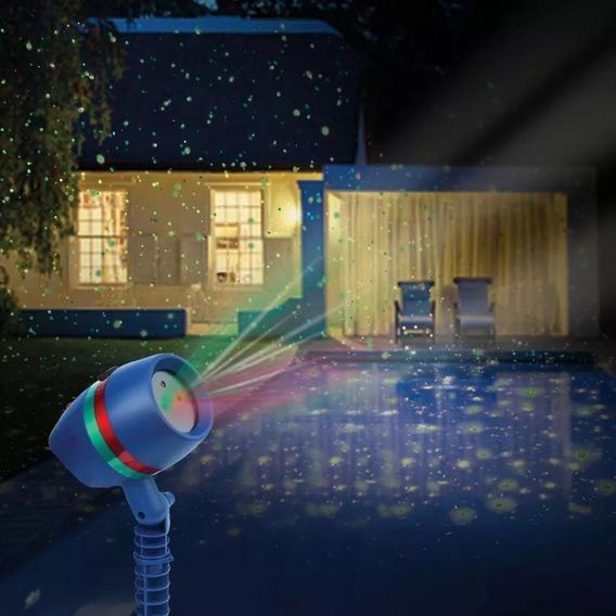 Projetor Laser Vermelho Verde Decoração Iluminação Natal