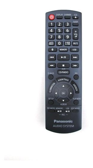 Controle Remoto Mini System Panasonic Akx440 - Original
