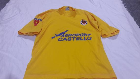Camiseta Villarreal Retro Vieja. Consultar Stock