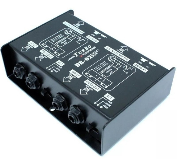 Direct Box Duplo Passivo Turbo Db-02