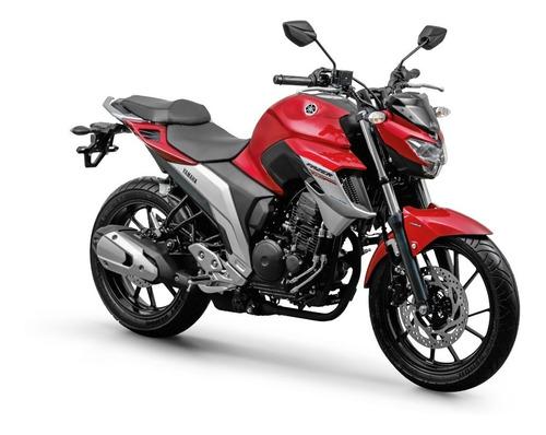 Fazer 250 Abs 2021 Yamaha 0km Vermelho