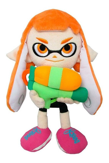 Peluche Splatoon Inkling Girl Felpa Little Buddy 23cm /u