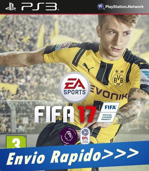 Fifa 17 - Ps3 - Cód Psn Envio Rapido Promoção