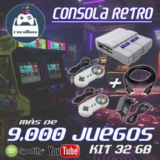 Consola Retro Arcade +9.000 Juegos Snes Sega Mame Sega Atari