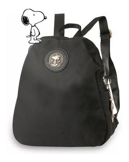 Bolsa Tipo Mochila Snoopy Estilo Americano Sp6802 4 Cores