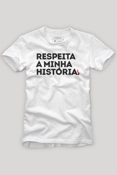 Camiseta Respeita A Minha História Reserva