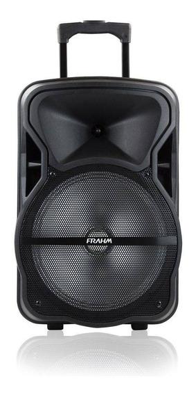 Caixa De Som Multiuso Amplificada Frahm Cm600 Bluetooth Usb