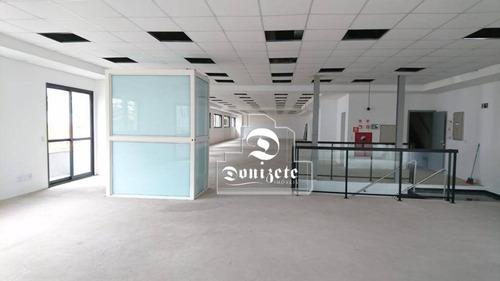 Salão Para Alugar, 520 M² Por R$ 20.000,00/mês - Centro - Santo André/sp - Sl0118