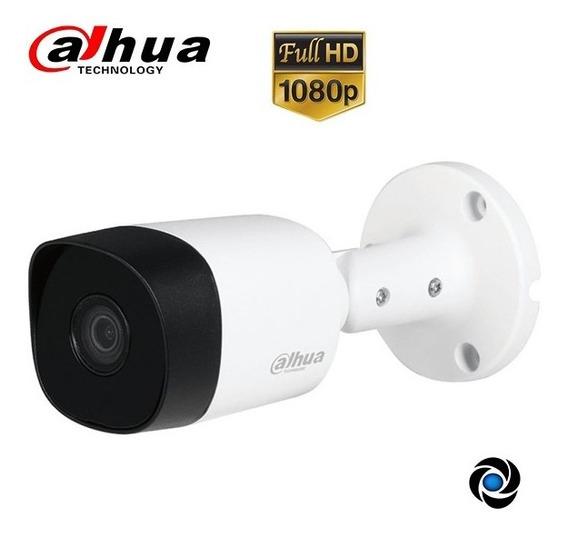 Camara Cctv 1080p 2mp Bullet Infrarroja Dahua Color Exterior Seguridad Gran Angular