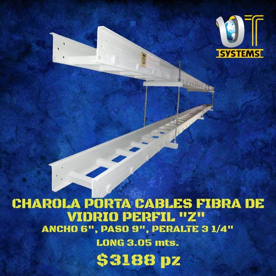 Charola Portacable Fibra De Vidrio 0609 Peralte 3 1/4