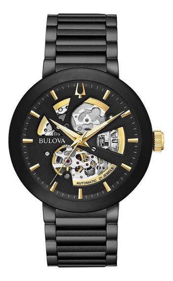 Reloj Bulova Hombre Modern Automatica 98a203