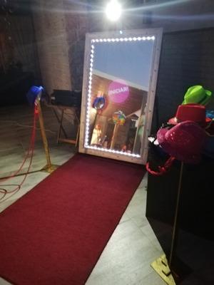 Espejo Magico Fotos Ilimitadas Alquiler Cabina Re Divertido