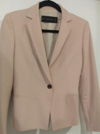 Saco Color Palo De Rosa, Marca Zara, Talla M. 28. Oferta