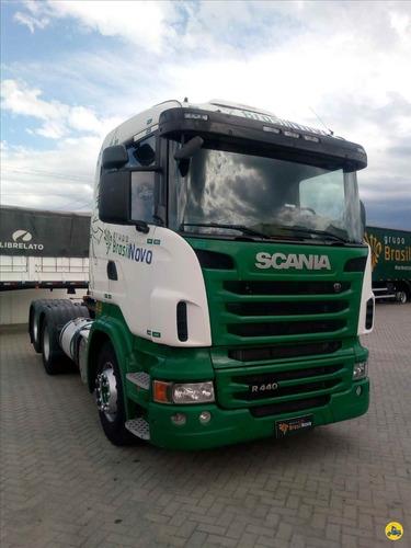 Imagem 1 de 15 de Scania R440 6x2 2013 Automático Com Retarde!