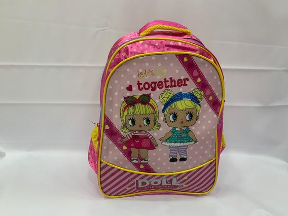 Mochila De Costas Infantil Lol Rosa Escolar 2019 G 3d
