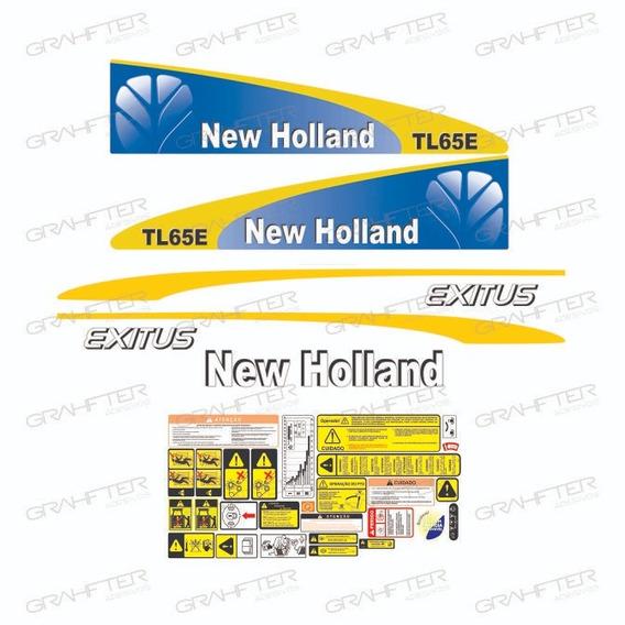 Adesivo Decalque New Holland Tl 65e