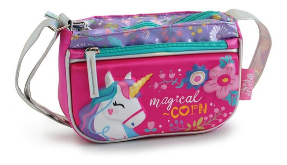 Cartera Carterita Infantil Unicornio Orig 55580 Mundo Manias
