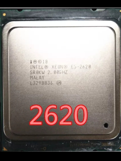 Xeon E5 2620 6 Núcleos 12 Threads