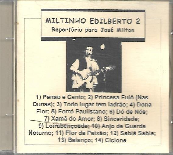 Cd - Miltinho Adilberto - Vol 2 - Lacrado