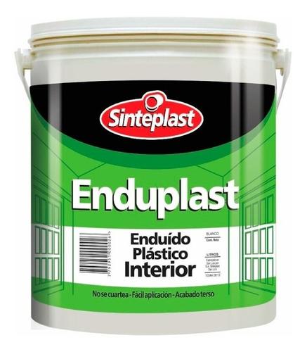 Enduplast Enduido Plastico Interior 25 Kg Sinteplast